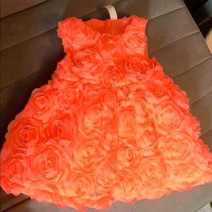 0-3 Mo Cherokee Rose Dress